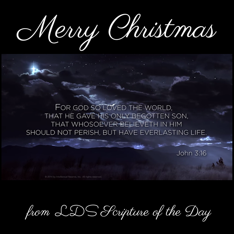 LDS Scripture of the Day: December 2014