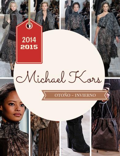 Michael Kors otoño invierno 2014 2015