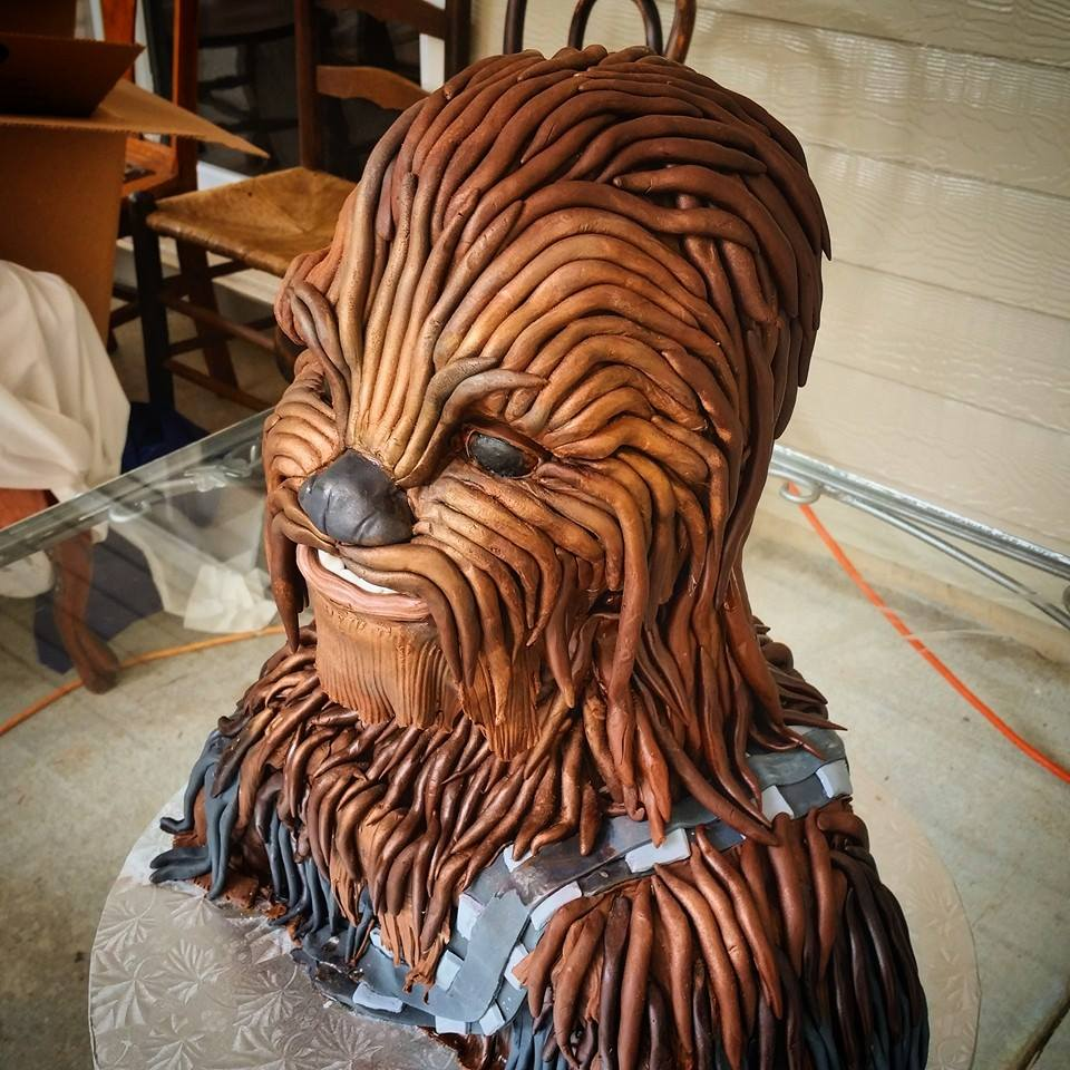 Chocolate Chewbacca Www Dunmorecandykitchen Com: Tales Of A Procrasti-Baker: Behind The Scenes: In A Galaxy