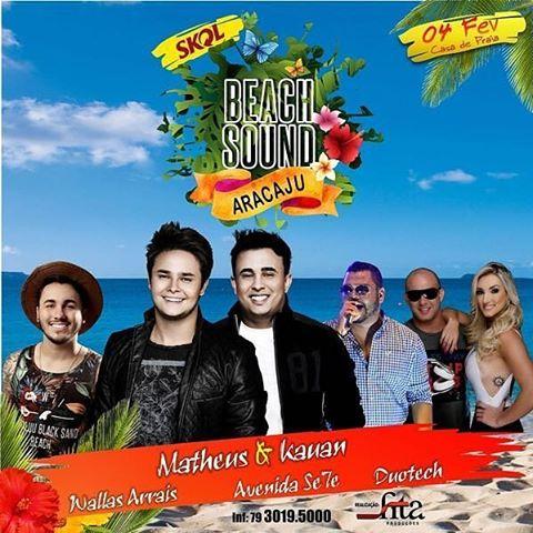 Beach Sound Aracaju - SE 04 de Fevereiro 2017