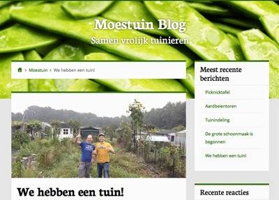 Moestuin Blog