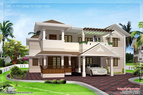 two floor house design