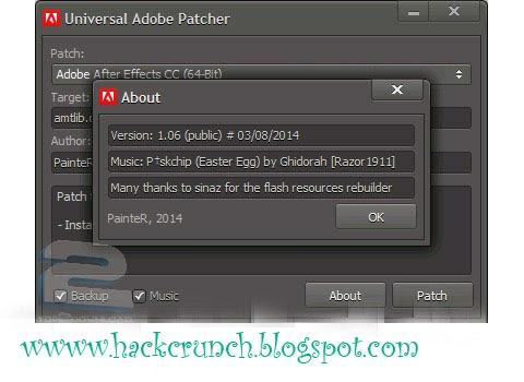 Universal AdobePatcher by hackcrunch