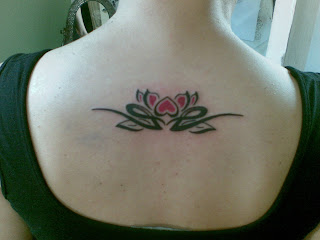 Lotus Tribal Tattoos Designs