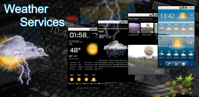 Weather Services PRO v2.1.1 APK