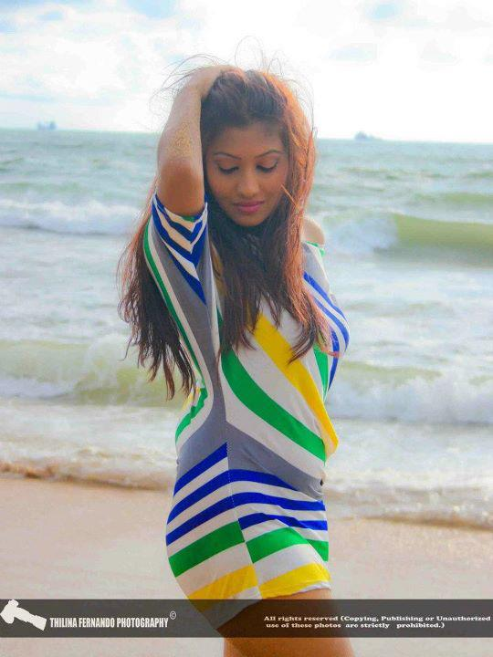 Srilankan Model Fallon Michelle Hot Photo Collection