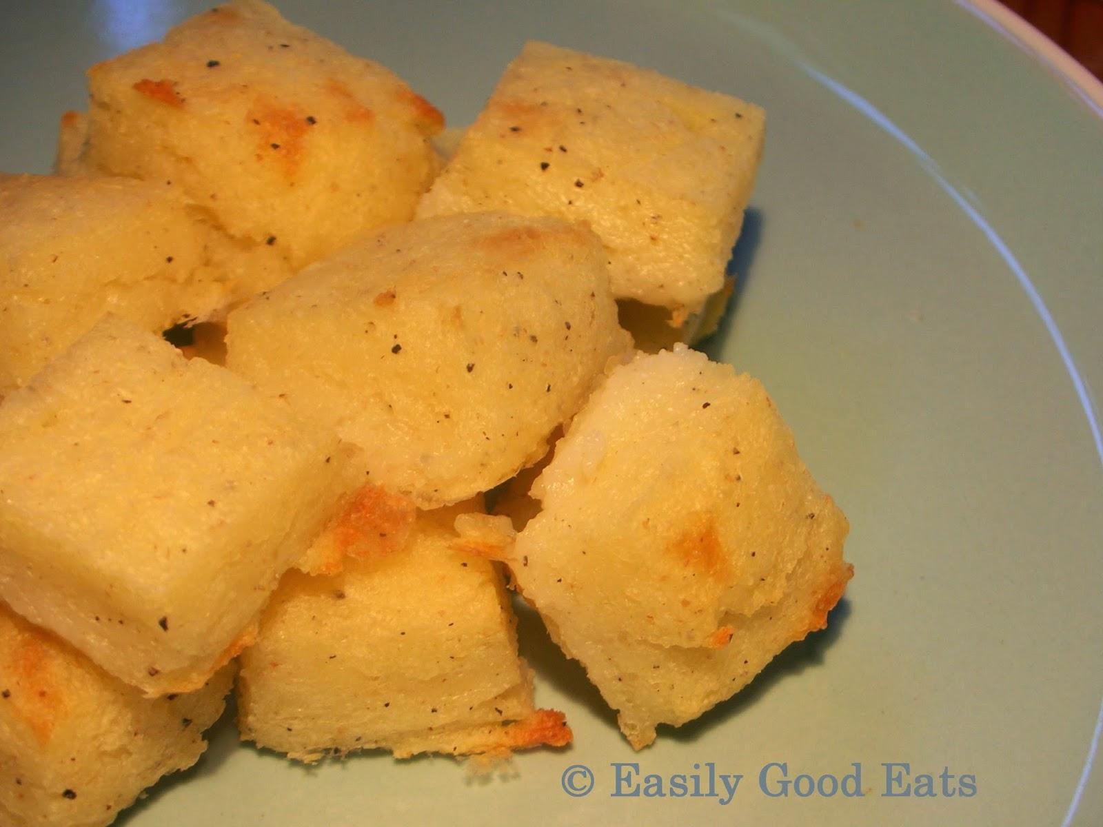 Easily Good Eats: Semolina Gnocchi (Gnocchi Alla Romana) Recipe