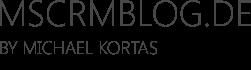 MSCRMBLOG.DE - By Michael Kortas