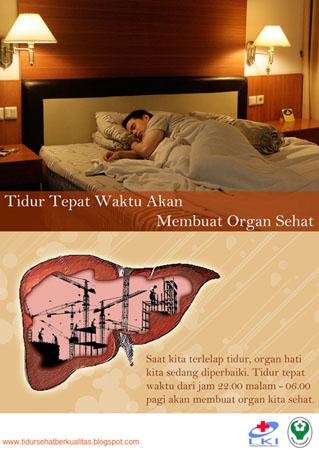 Tidur Sehat Organ Sehat