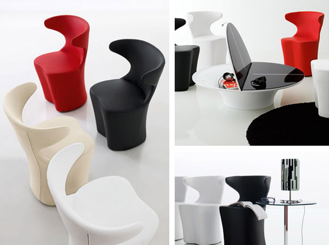 home and garden: Ultra Modern Living Room Furniture Design
