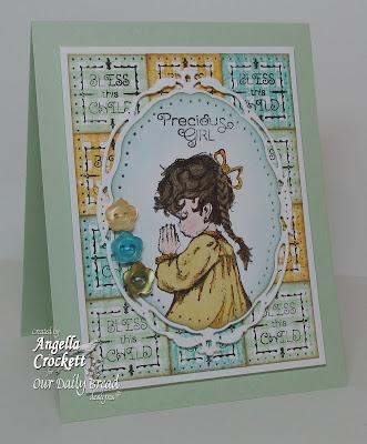 "ODBD ""Precious Girl"" Card Designer Angie Crockett"