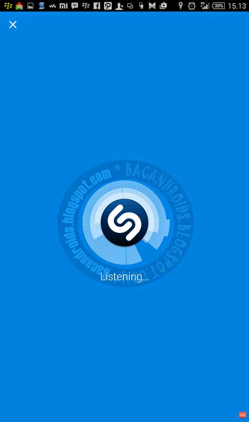 Cara Menebak Judul Lagu di Radion dengan Shazam apk