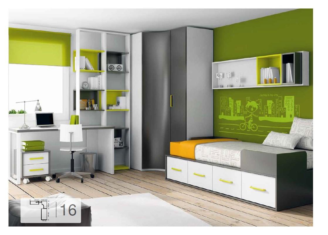 Blog dormitorios juveniles valencia abril 2012 for Habitaciones compactas