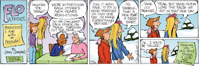 Flo and Friends by Jenny Campbell and John Gibel, http://www.gocomics.com/floandfriends/2012/12/30