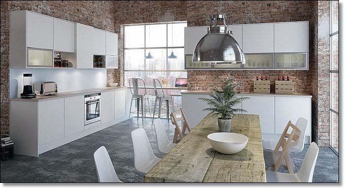 Nordisk kjøkken - interiør inspirasjon