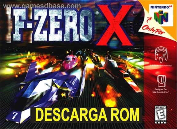 F Zero X n64 descarga rom