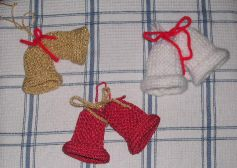Knitting Pattern Christmas Bells : Knitting Galore: Christmas Bells