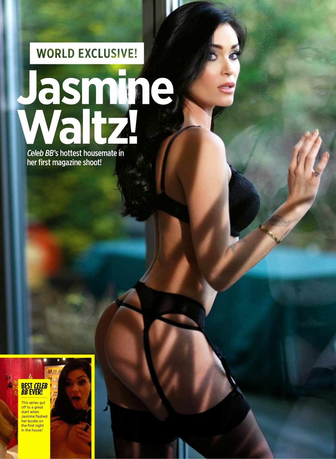 Jasmine Waltz Nuts UK Magazine Photoshoot January 2014