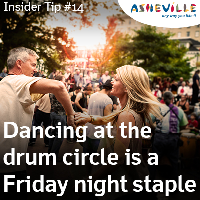 Asheville Insider Tip: Friday Night Drum Circle.