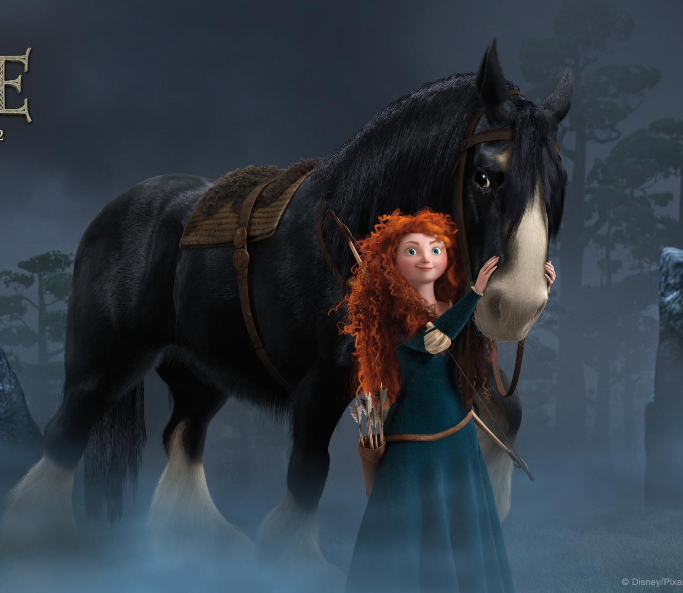 Princess Merida Brave Wallpaper Free For Desktop  - princess merida in brave wallpapers