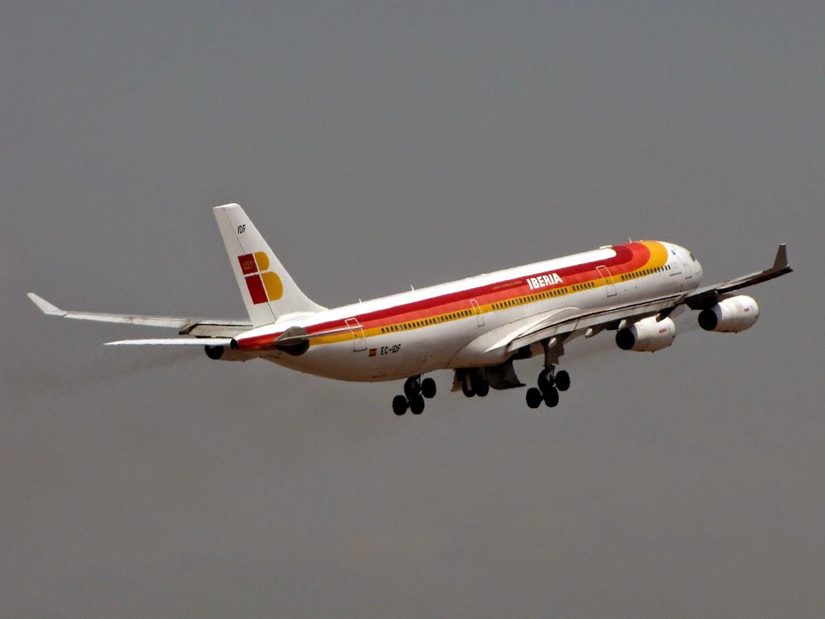 747s y A340s de Iberia