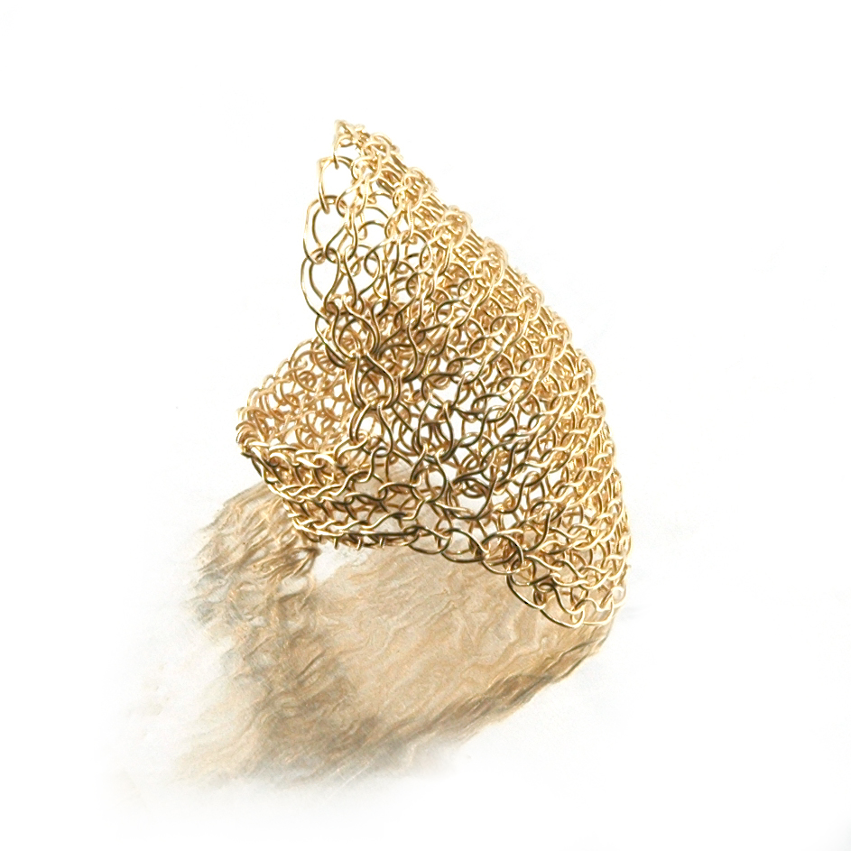 Crocheting Rings : Cleopatra ring - wire crochet ring - YoolaYoola