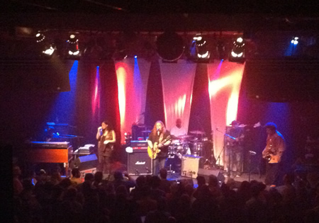 Warren Haynes Band live @ The Independent, San Francisco, CA - 2011/08/14
