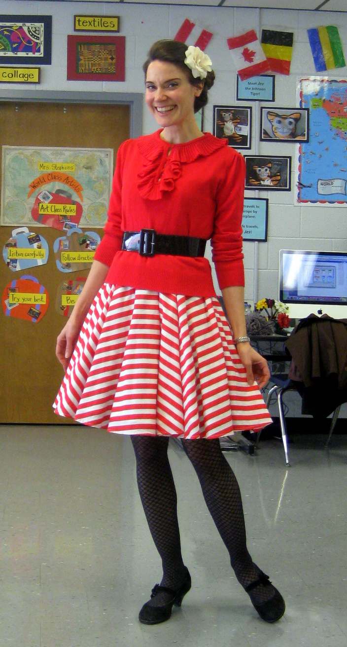 Cassie Stephens Valentines Outfits