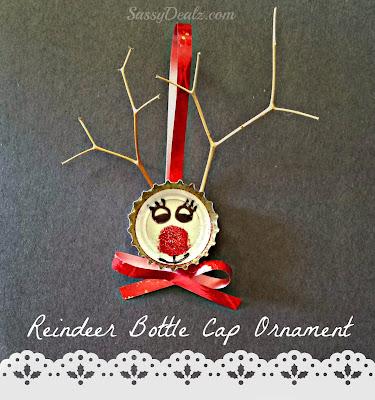 reindeer-bottle-cap-ornament-craft