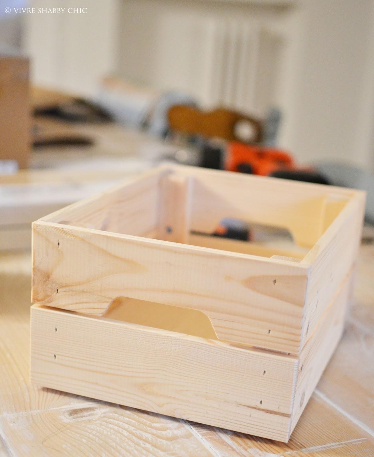 Cassette legno shabby chic fi31 regardsdefemmes for Opzioni di rivestimenti in legno