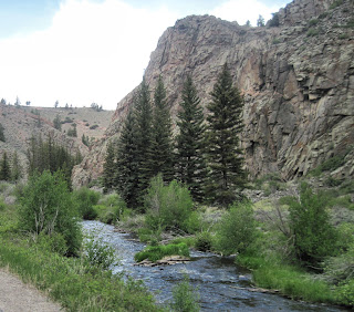 Lake Fork of the Gunnison River - Hwy 149 CO