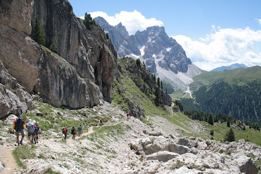 Alta Via n.2 in Dolomiti 2012