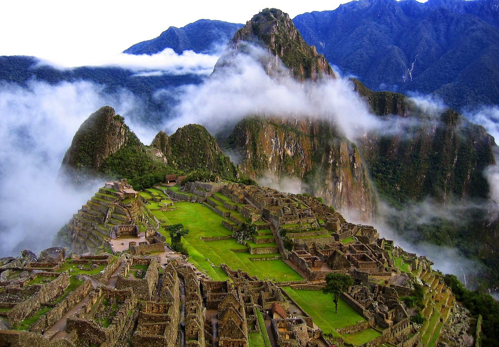 objek wisata Machu Picchu