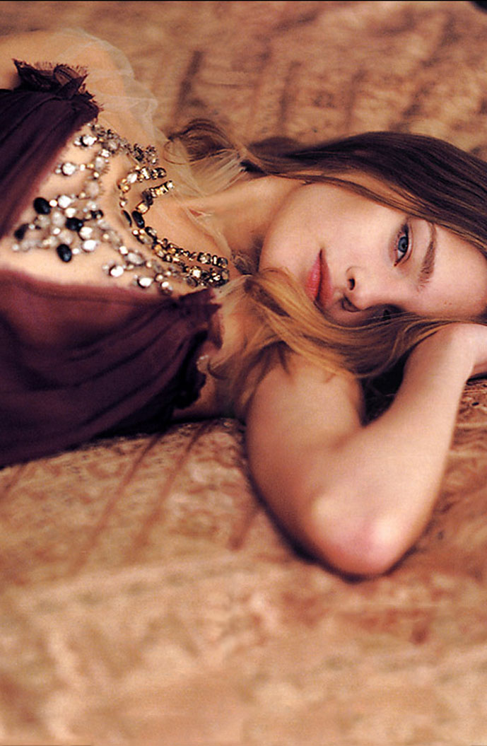 Natalia Vodianova in From Russia with Love   Telegraph Fashion UK 16 March 2003 (photography: David Armstrong, styling: Daniela Agnelli)