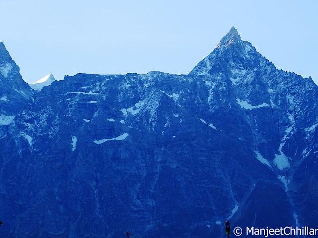 Snow, Kalpa, Himachal Pradesh