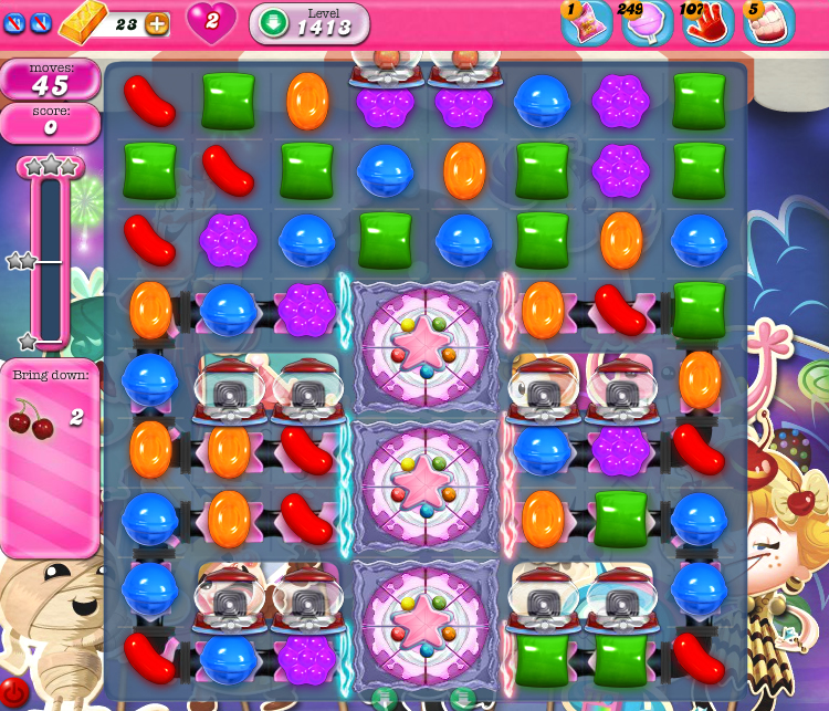 Candy Crush Saga 1413