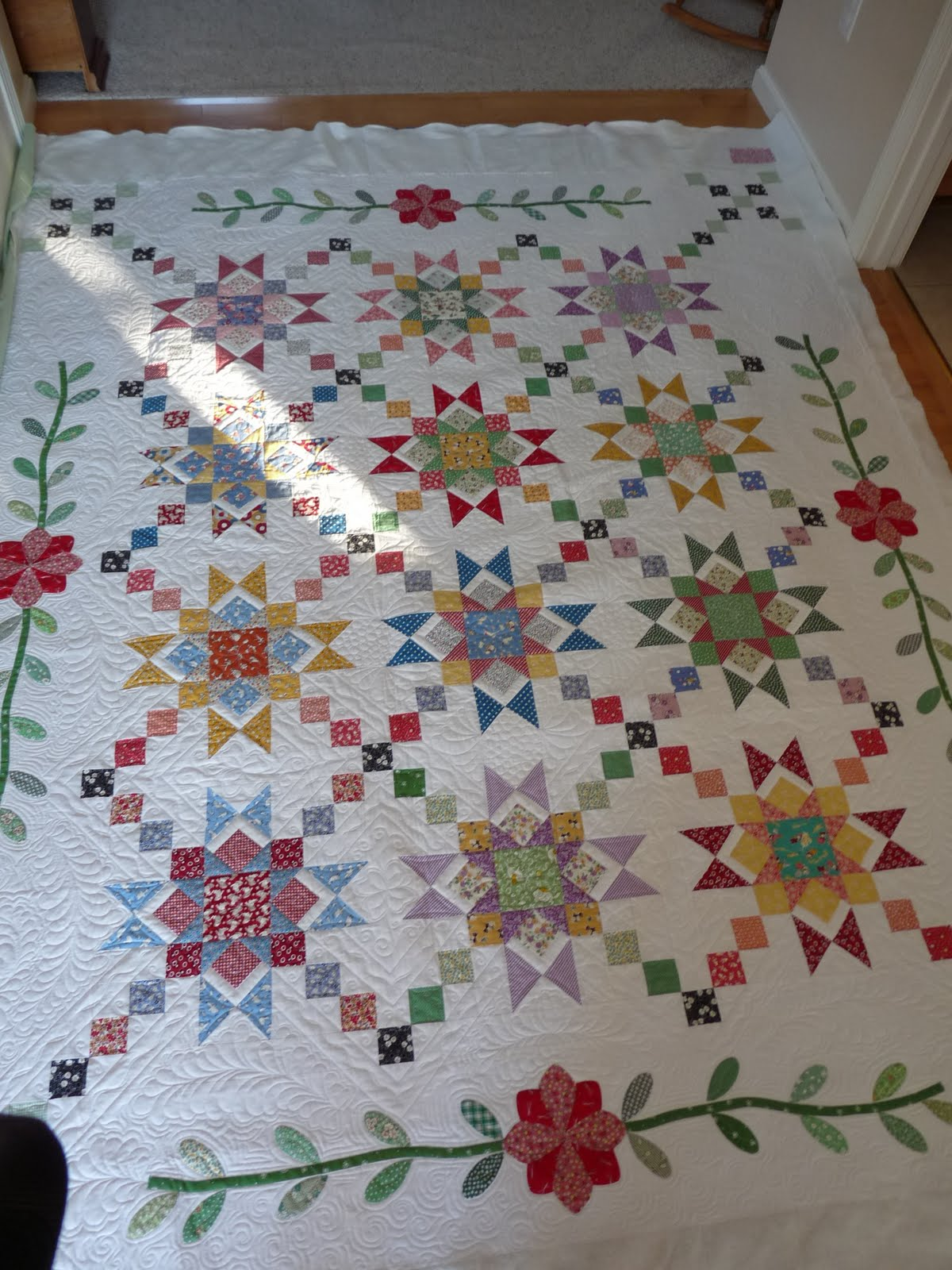 Sewing & Quilt Gallery: 1930 s quilt