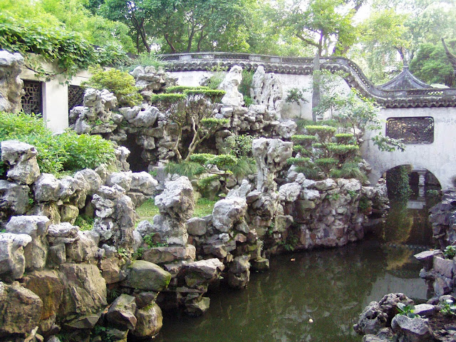 Old Town Shanghai Chinese garden