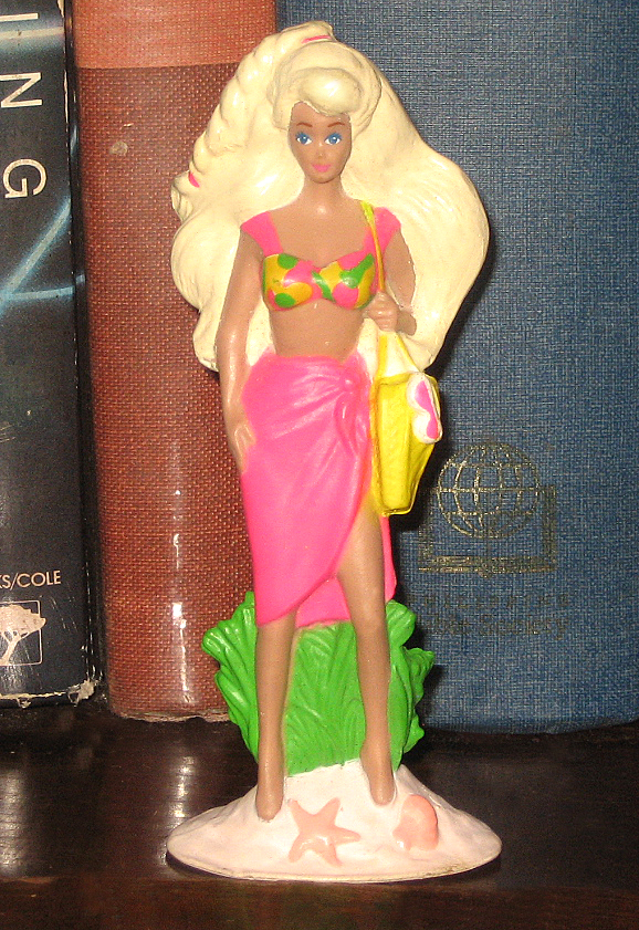 Percy's Fast Food Toy Stories: Beach Barbie