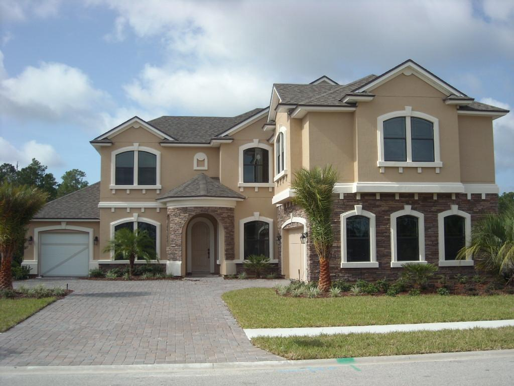 Vernon volumes florida dream house under construction for Building a house in florida