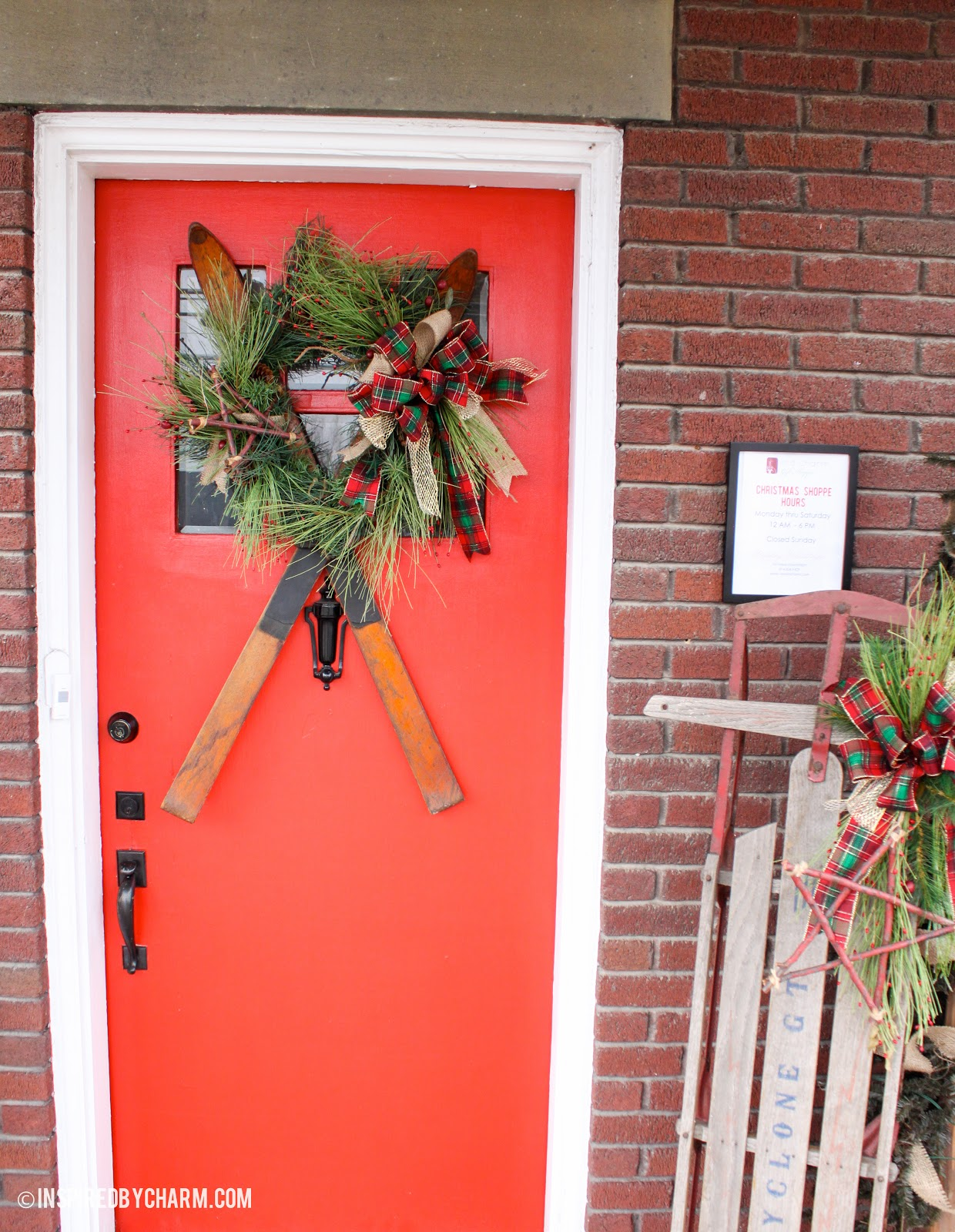 12 days of christmas day 4 wreath sipration for 12 days of christmas door decoration