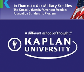 The Kaplan University/American Freedom Foundation Scholarship Program
