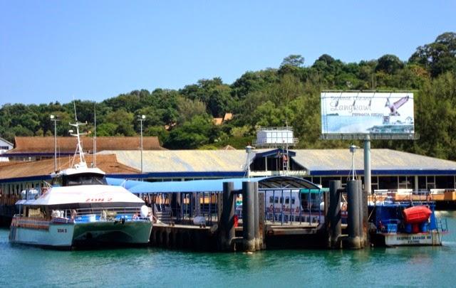 Koh Lipe à Langkawi - ponton de Koh Lipe