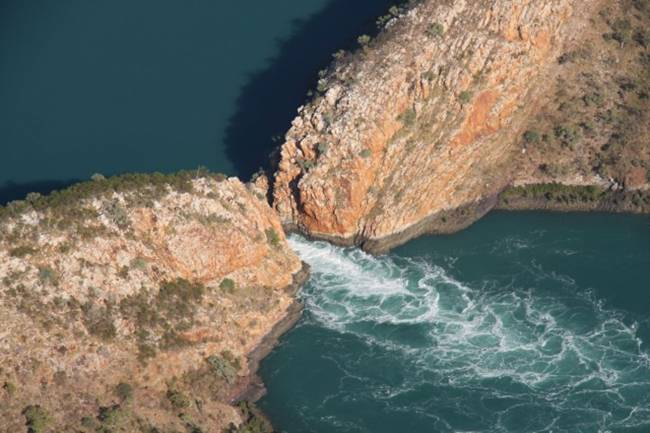 Horizontal Waterfalls in Australia