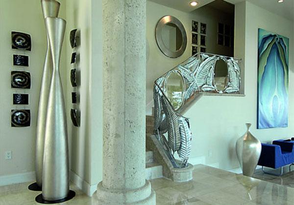 Tipos De Escaleras Para Interiores. Escaleras Circulares O De Tipo ...