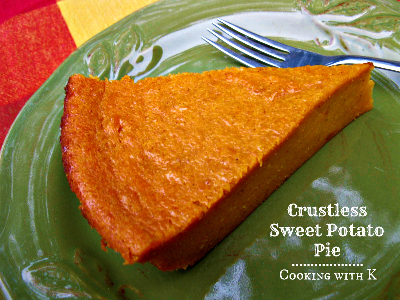 ... Sweet Potato Pie {a classic way to use leftover sweet potatoes