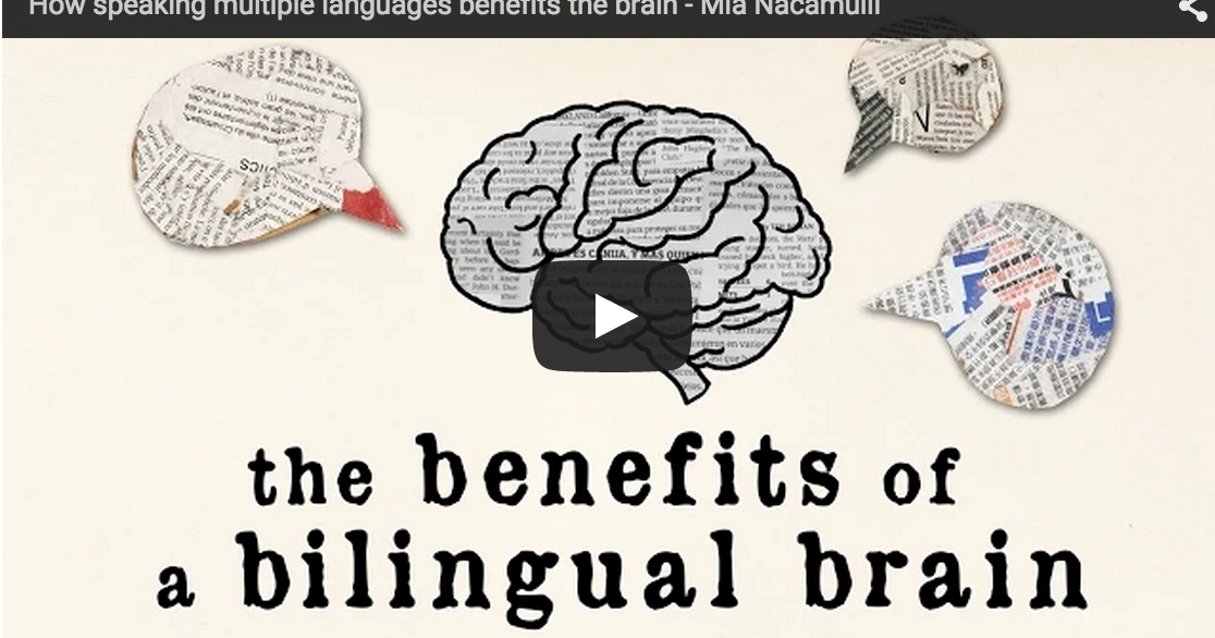A Wonderful TED Ed Video on The Cognitive Advantages of Bilingualism