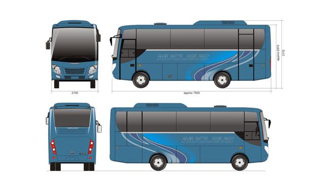 Nucleus by Laksana Intercity Bus