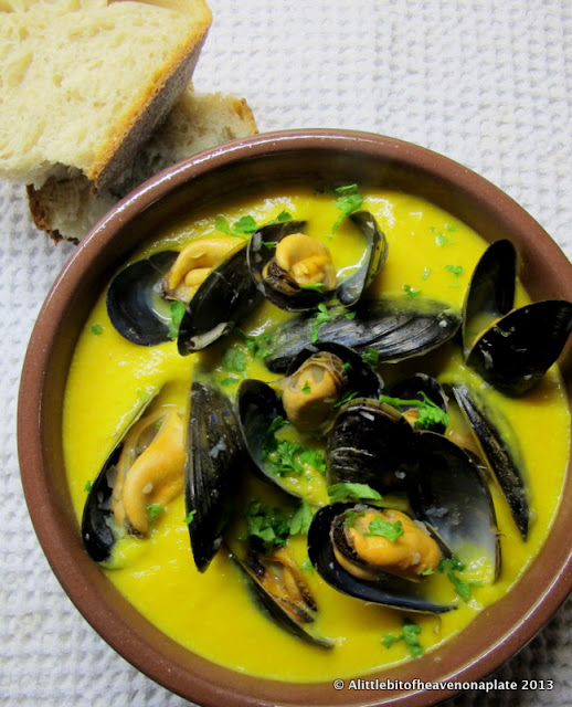 how to make mussel soup