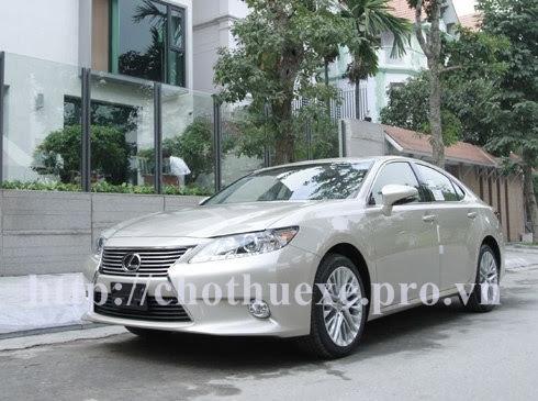 Cho thuê xe 4 chỗ Lexus ES350 VIP tại Hà Nội